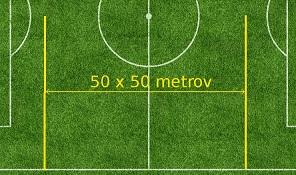 50 x 50 metrov