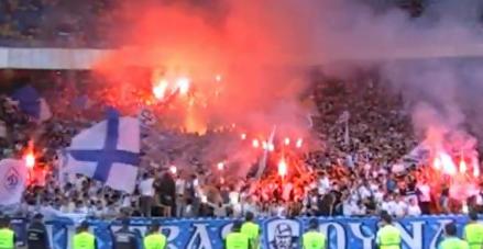 Ultras Dynama Kyjev proti EURO 2012