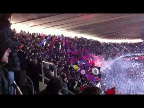 Fans FC Bazilej v Mníchove