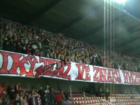 Slavia Praha fans