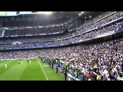 Real Madrid fans - OLE LE OLA LA!