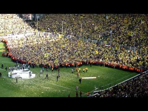 Borussia Dortmund oslavy (2011)