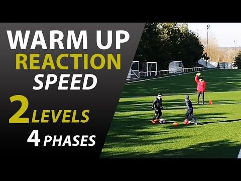 Rozvoj reakčnej rýchlosti | Reakčný futbalový tréning