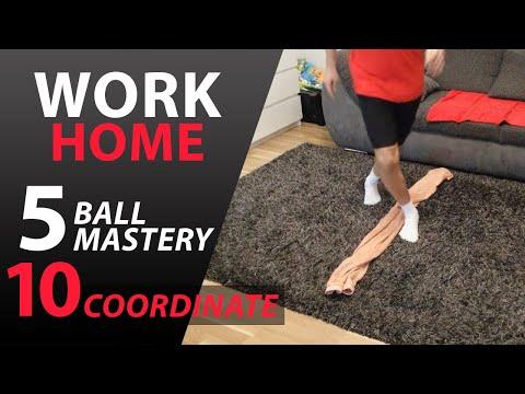 Futbalový tréning pre deti na doma | Ball Mastery a koordinácia #1