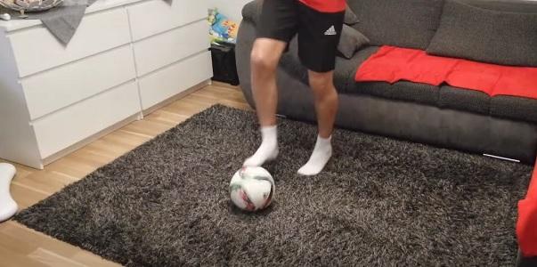 Futbalový tréning pre deti na doma | Ball Mastery a Sila #2