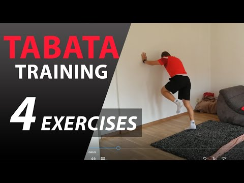 TABATA | HIIT Vysoko intenzívny intervalový tréning | PP Academy