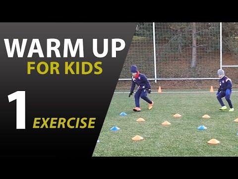 Zábavná rozcvička pre deti na rozvoj rýchlosti WU #1