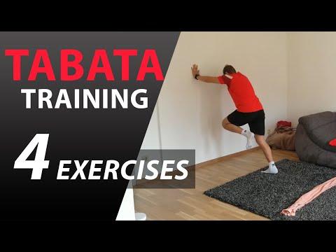 TABATA | HIIT Vysoko intenzívny intervalový tréning