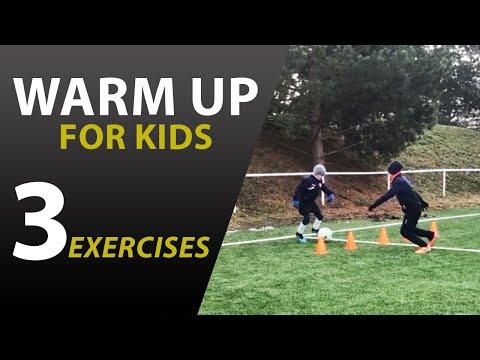 3 varianty futbalovej rozcvičky pre deti U9-U10-U11-U12 WU #2