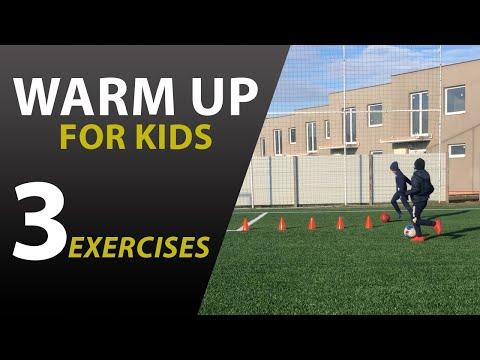 Futbalová rozcvička hravou formou pre deti WU #3