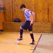 Vedenie lopty vpred chodidlom a s pootočením